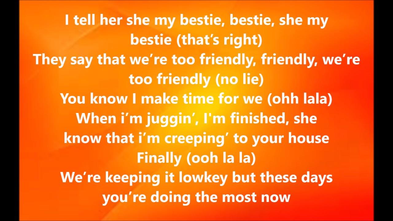 Bestie By Yungen Ft Yxng Bane Lyrics Youtube