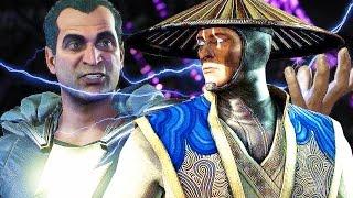 INJUSTICE 2 Raiden Easter Egg Funny Reference Mortal Kombat