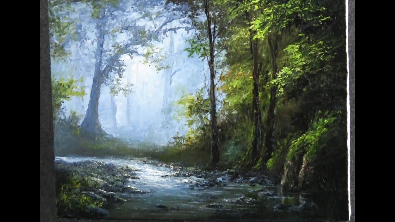 Paint with kevin hill palette knife only landscape pa for Oil painting lessons near me