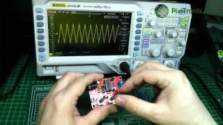 XR2206 Function/Signal generator kit build.