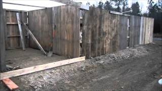 Building A Pallet Barn