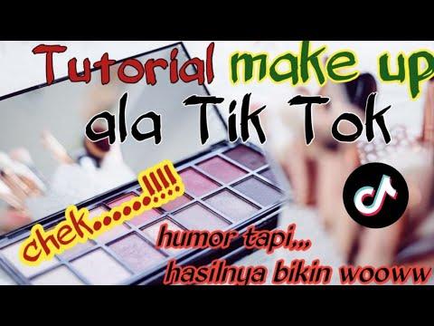Tutorial make up ala tiktok chek......