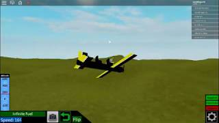 The best roblox plane