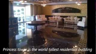 1Bedroom for rent in the tallest residential tower in the World the Princess tower Dubai Marina