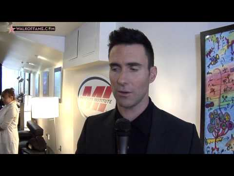 RECORDING ARTIST ADAM LEVINE HONORED WITH HOLLYWOOD WALK OF FAME STAR