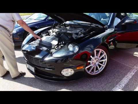 2005 Aston Martin Vanquish S Startup and Run
