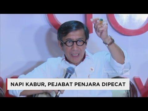Napi Kabur, Pejabat Penjara Dipecat di Pekanbaru Riau Mp3