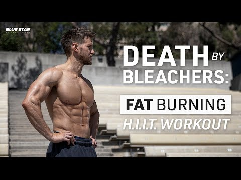 Death By Bleachers: Fat Burning H.I.I.T. Workout Ft. Rob Riches