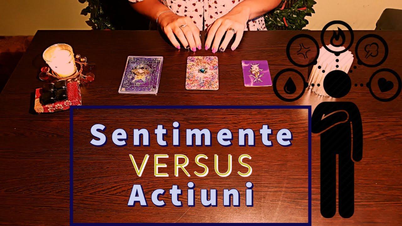 Tarot: Alege o carte! Sentimentele VS Actiunile Sale 🪔