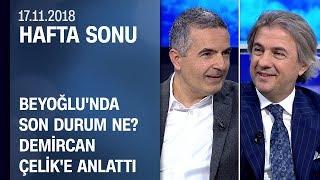 Ahmet Misbah Demircan, Beyoğlu'ndaki çalışmaları anlattı - Hafta Sonu 17.11.2018 Cumartesi