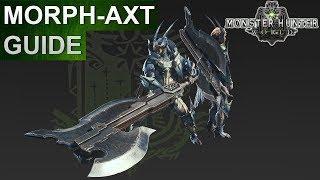 Monster Hunter World: Morph-Axt Guide (Deutsch/German)