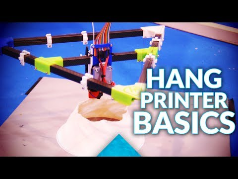 Building the Hangprinter: The Basics!