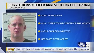 VIDEO: Metro Jail corrections officer accused of having child porn