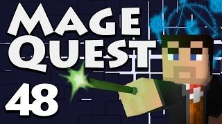 fighting the Wither (Minecraft Mage Quest  Part 48) 1.7.10 Modpack