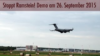 Stopp Ramstein! Demo gegen den Militärstützpunkt