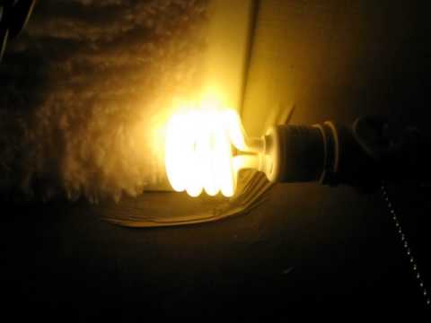 Simple Experiments 101 Static Electricity And CFL Compact Fluorescent Lighting