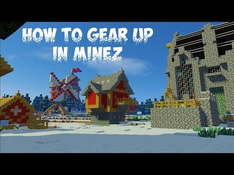 How to Gear Up in MineZ