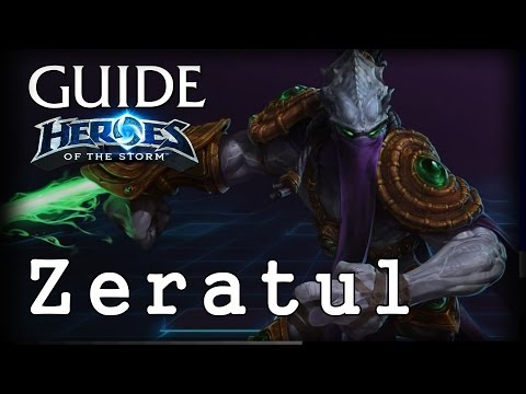 видео: Гайд Зератул hots - guide zeratul heroes of the storm - hots Гайд Зератул