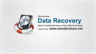 Wondershare Data Recovery -Recover documents, emails, photos, videos, audio files and more!