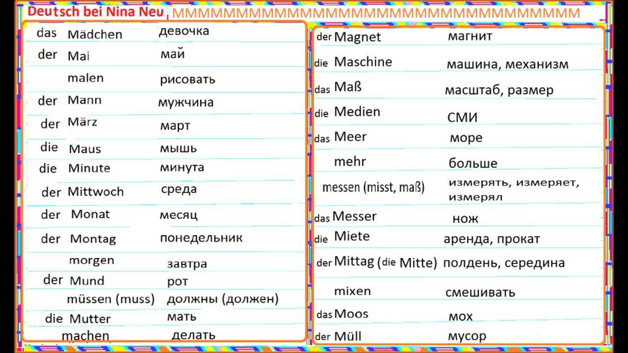 Антонимы в немецком языке