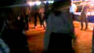 As meninas dançando
