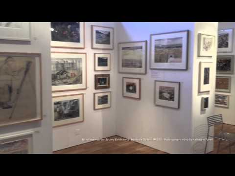 Royal Watercolour Society Exhibition - 30 March 2015