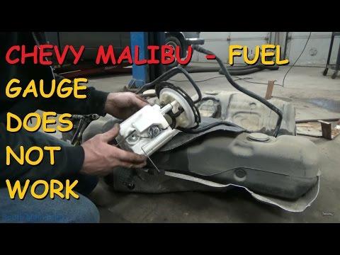 Chevrolet Malibu Gas Gauge Does Not Work