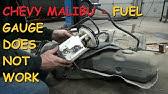 Chevrolet Malibu: Fuel Pressure Sensor Trouble P018B P018C