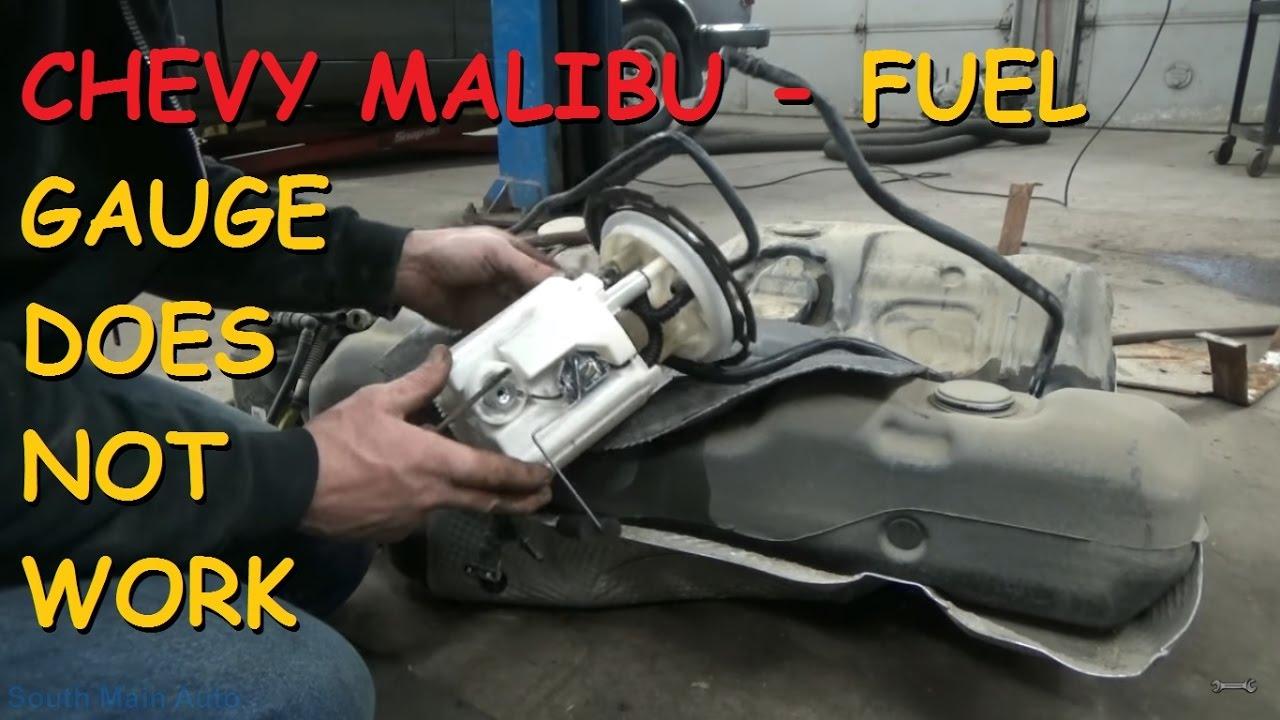 Chevrolet Malibu Gas Gauge Does Not Work  YouTube