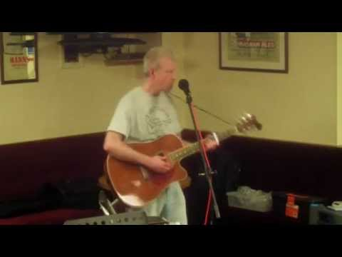 Paul Strummer Waiting For The Sign original song live looped Earls Barton Working Mens Club