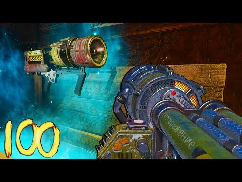 🏆'Kino Der Toten' ROUND 100 FULL GAMEPLAY STRATEGY!🏆 (Rounds 66-100) - (Black Ops 3 Zombies DLC 5)
