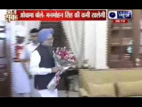 I will miss working with you: Barack Obama to Manmohan Singh