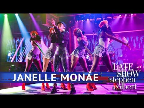 Janelle Monae Performs 'Make Me Feel'