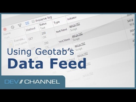 Using Geotab's Data Feed