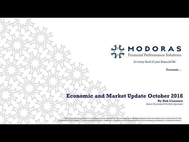 Economic and Market Update October 2018