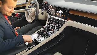 Walkaround interior exterior Bentley Continental GT W12 First Edition 2018
