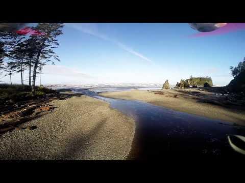Ruby Beach drone