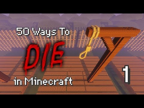 50 Ways to Die in Minecraft Part 7-1