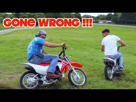 DIRTBIKE TAG GONE WRONG WITH DHY OWNER !!!