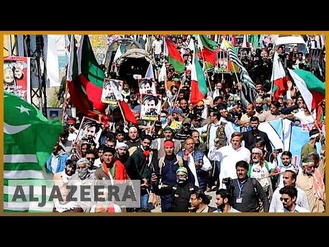 Pakistani-administered Kashmir: Hundreds
