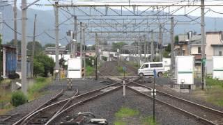 20150626 山形線・仙山線 156M&1445M&3842M 羽前千歳駅