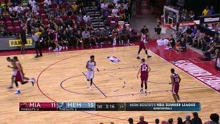 Quarter 1 One Box Video :Grizzlies Vs. Heat, 7/14/2017