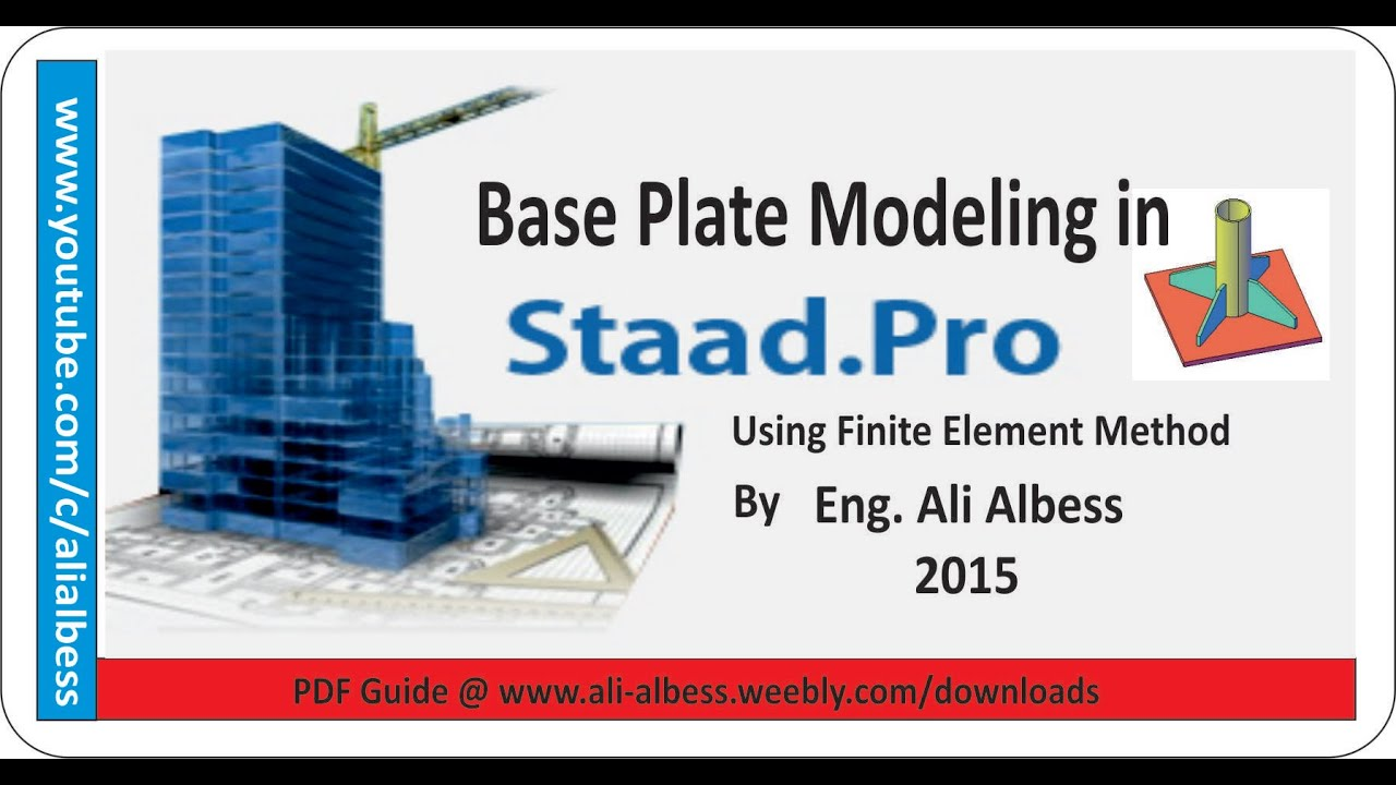 Staad Pro V8i Examples Manual Pdf