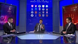MNF review Gary Neville and Jamie Carragher on Monday Night Football