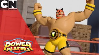 Power Players | Wrestling Match | Cartoon Network UK