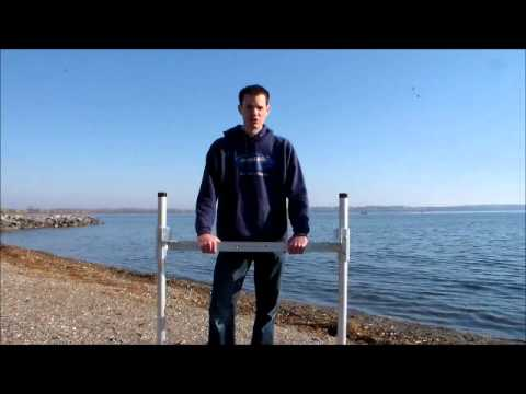 Diy dock stanchion kit youtube diy dock stanchion kit solutioingenieria Image collections