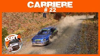Dirt 4 Mode carrière # 22 Finish cavalier Yuna Forest (Etats-Unies) Subaru Impreza