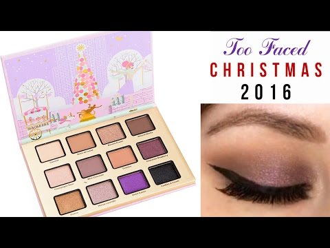 Too Faced Merry Macarons Holiday 2016 | TUTORIAL || HEATHER HAVOC