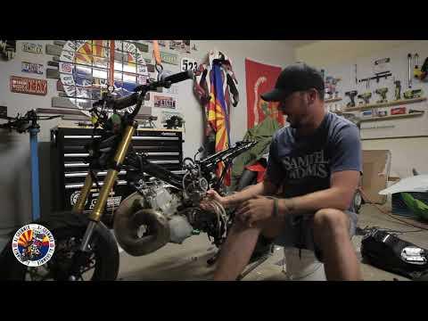 250 2 stroke Grom Build! PT1!!!