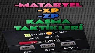 ZULA - HIZLI ZP , XP VE MATERYAL KASMA TAKTİKLERİ ! %100 GARANTİ